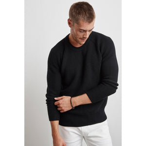 Velvetmen Elvin Engineered Stitches Raglan Sweater