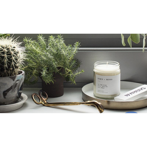 Brooklyn Candle Studio Fern + Moss Minimalist Candle