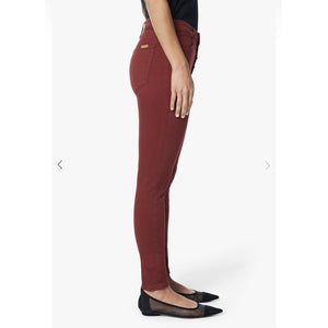 Joe's Jeans The Charlie High Rise Skinny Ankle Exposed Button in Cinnabar CNXPSC5748