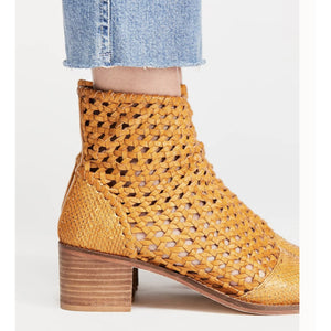 Free People In The Loop Woven Boot in Tan 46142188