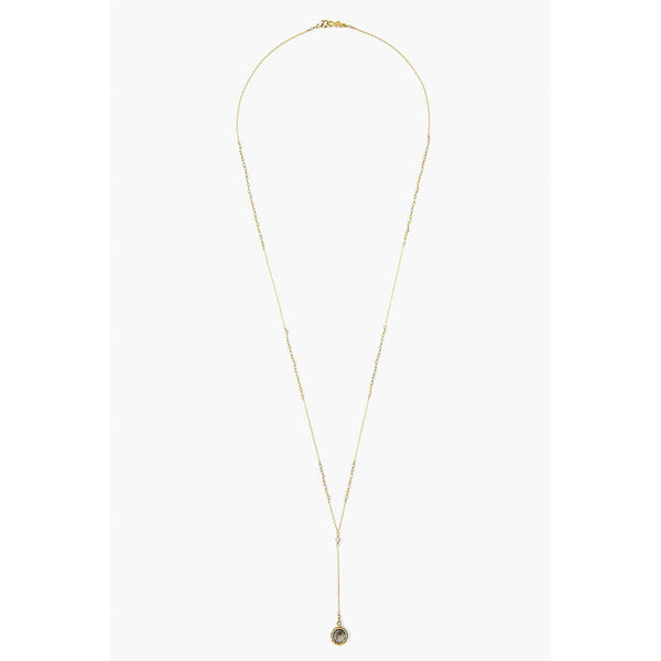 Chan Luu Labradorite Mix Pendent Y-Necklace NG-14155