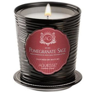 Aquiese Pomegranate Sage Candle
