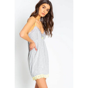 PJ Salvage Dream in Color Chemise RSDCCE-HEATHER-GREY