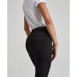AG Jeans the Farrah Ankle Seamless in Super Black SSW1B32SBA