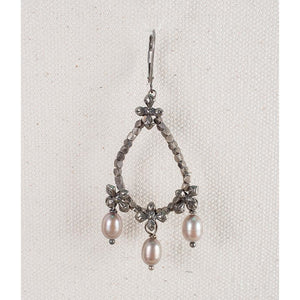 Love Heals Vairocana Earrings Champagne