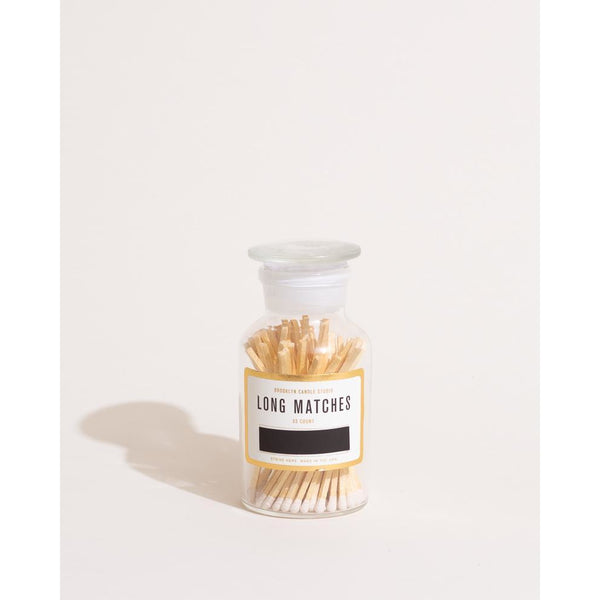 Brooklyn Candle Studio Apothecary Match Bottle