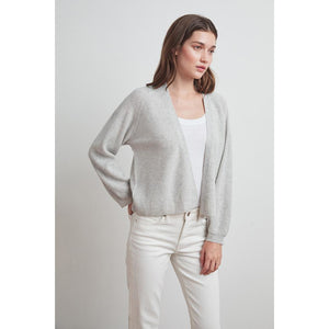 Velvet by Graham & Spencer Lynn Cashmere Blend Cropped Cardigan
