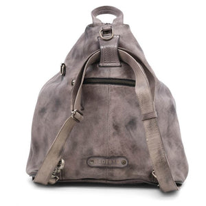 Bedstu Delta Backpack in Grey Dip Dye