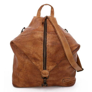 Bedstu Delta Backpack in Tan Rustic