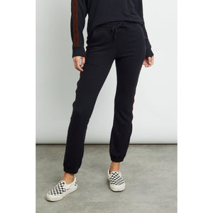 Rails Kingston Black Leopard Loungepant