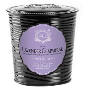Acquiesse Lavender Chaparral Luxe Tin Candle