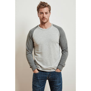 Velvetmen Aldon Two Tone Luxe Fleece Pullover