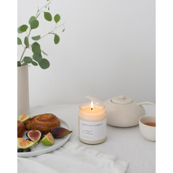 Brooklyn Candle Studio Montana Forest Minimalist Candle