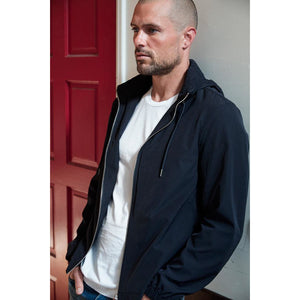 Velvetmen Damon Jacket in Night (Black)