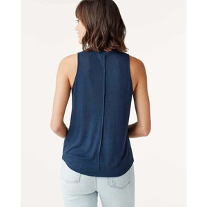 Splendid Acadia Tank in Navy RS0K090