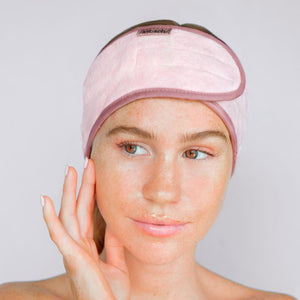 Kitsch Microfiber Headband in Blush or Palm