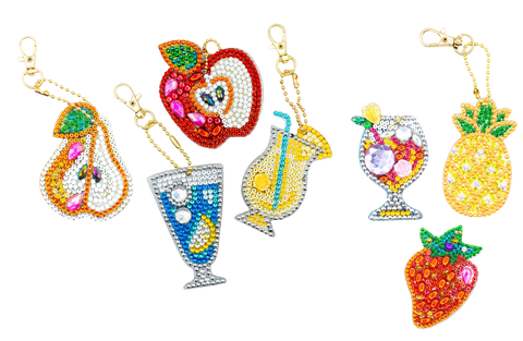 Diamond Design Keychains