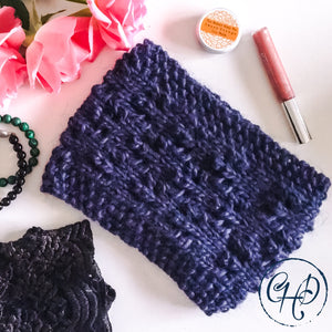 All you need to know about my Knitted Lace Headband