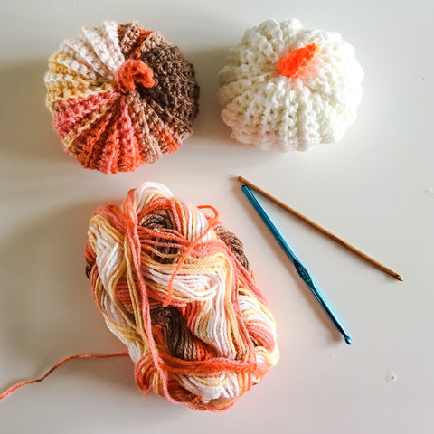 easy crochet pumpkin tutorial