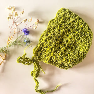 Baby Bonnet Green
