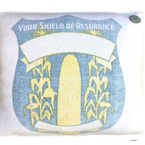 "US Vintage ""Blue Crest - Your Shield Of Assurance"""