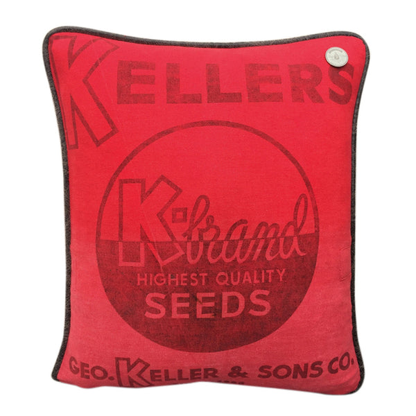 "US Vintage ""KELLERS K-Brand Seeds"" Quincy, Illinois"