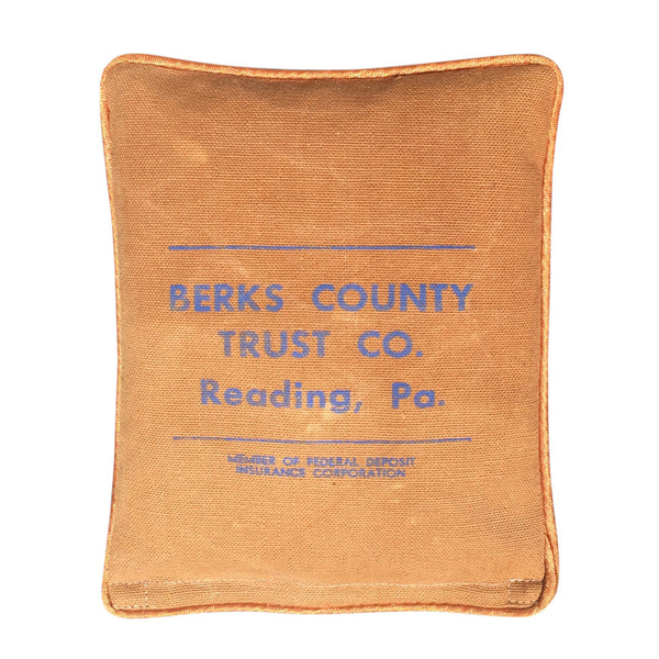 "Heat & Cold Therapy Pad ""Berks County Trust Co."" Reading, Pennsylvania"