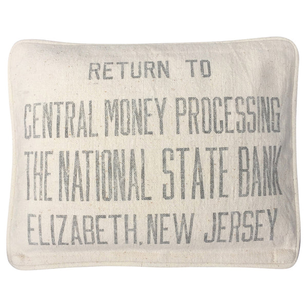 "Heat & Cold Therapy Pad ""The National State Bank"" Elizabeth, New Jersey"