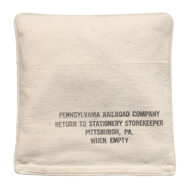 "Heat & Cold Therapy Pad ""Pennsylvania Railroad Co."" Pittsburgh, Pennsylvania"
