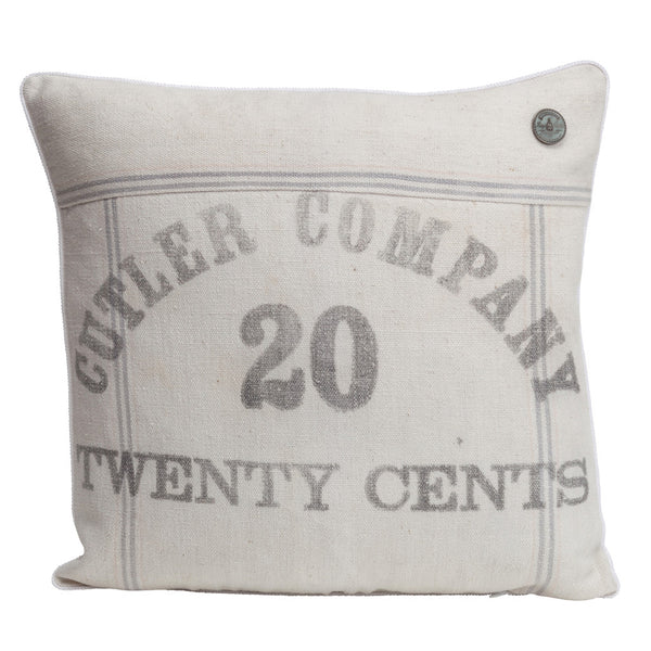 "US Vintage ""Cutler Company 20 Cents"""