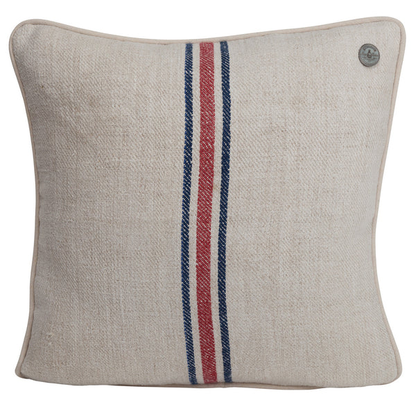 French Vintage Linen Pillow #8