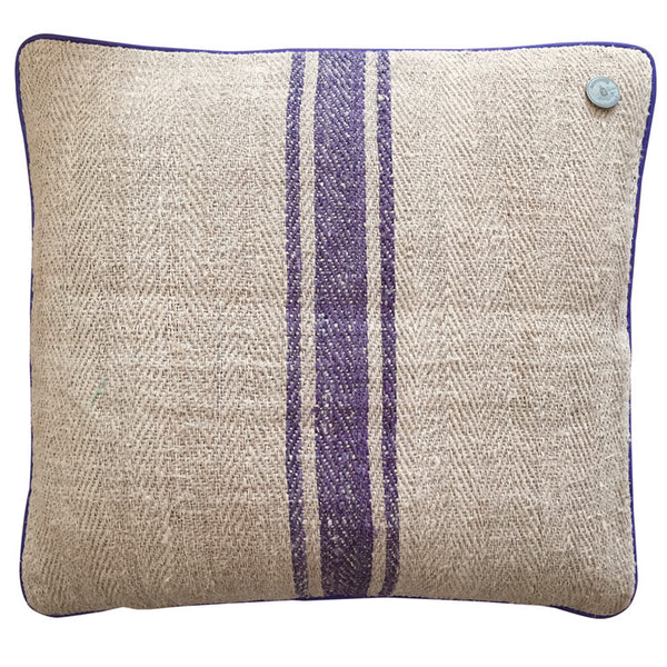French Vintage Linen Pillow #6
