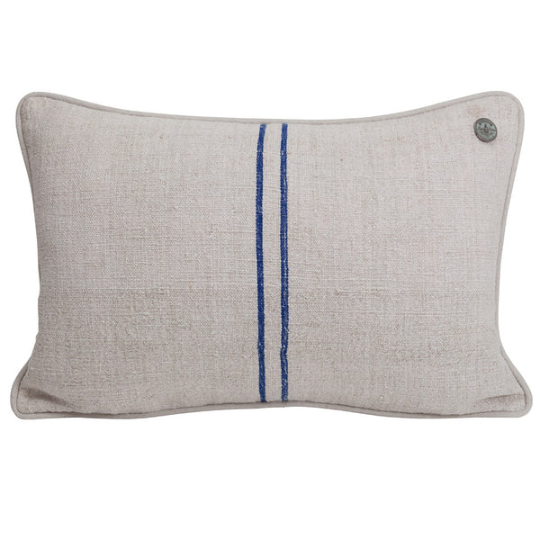 French Vintage Linen Pillow #3