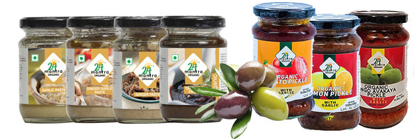 Organic Culinary Pastes, Olives & Pickles