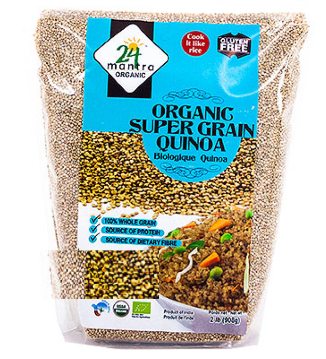Organic Quinoa Royal White