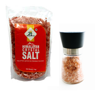 Himalayan Crystal Salt with Grinder
