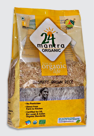 24 Mantra Organic  Basmati Brown Rice