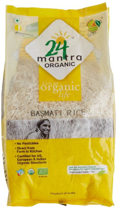 24 Mantra Organic White Basmati Rice