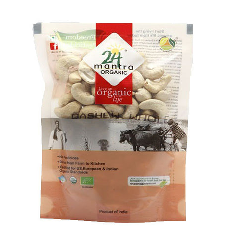 24 Mantra Organic Whole Cashews