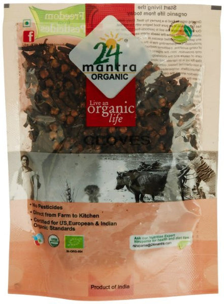 24 Mantra Organic Whole Cloves