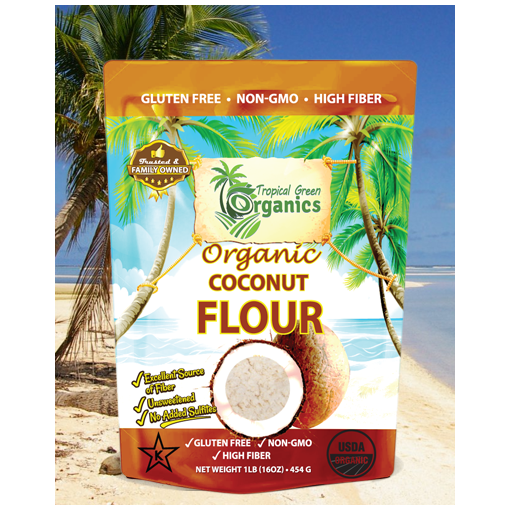 Tropical organic Coconut products