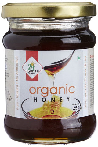 24 Mantra Organic Himalayan Multiflower Honey