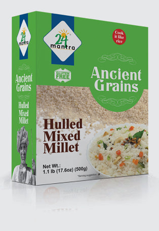 Hulled Mixed Millet Organic