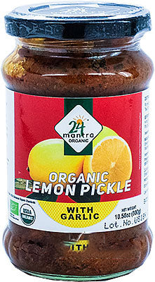 Organic Lemon Pickle