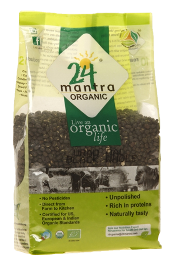24 Mantra Organic Black Whole Urad Dal
