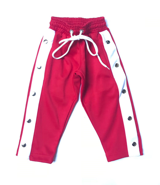 YSM Red Snap Away Pants