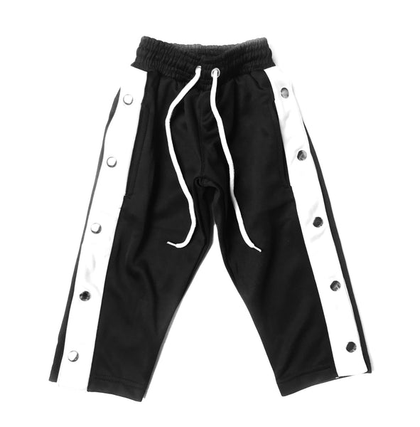 YSM Black Snap Away Pants