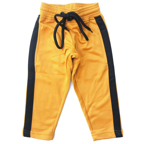 Yellow & Black Track Pant