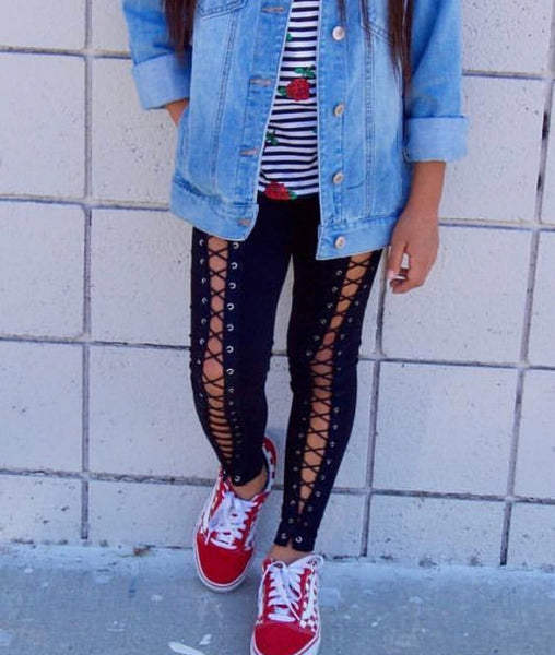 ORIGINAL Lace Up Leggings