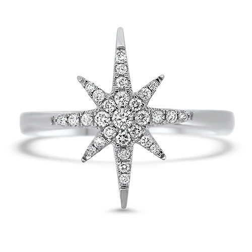 """North Star"" Diamond Ring"